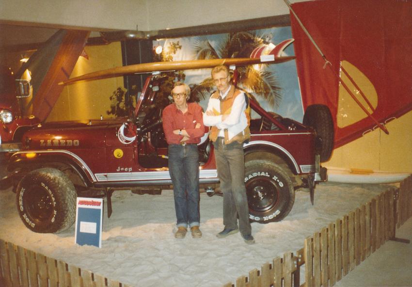 1984 Golden Baby på mässa - 1983 - 1989