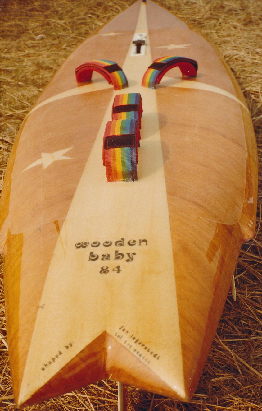 1984 Wooden Baby - 1983 - 1989