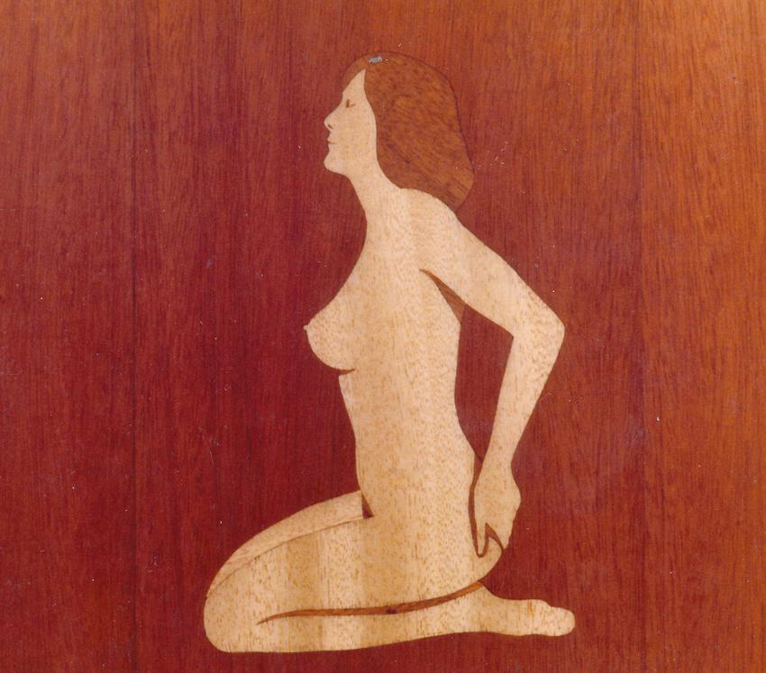 1984 Wooden Baby Intartsia - 1983 - 1989