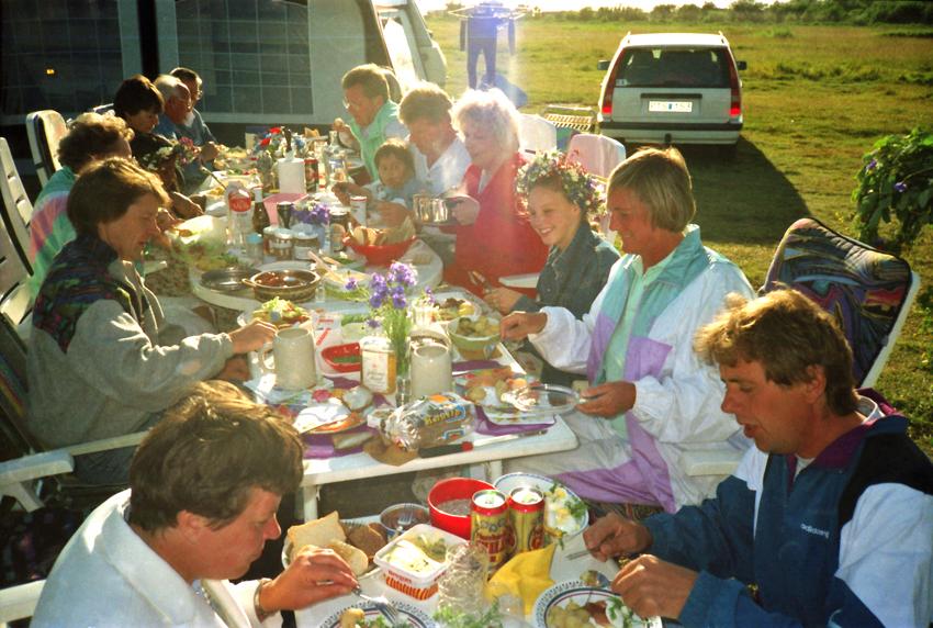 1994 Midsommar Långbord - 1991 - 1996