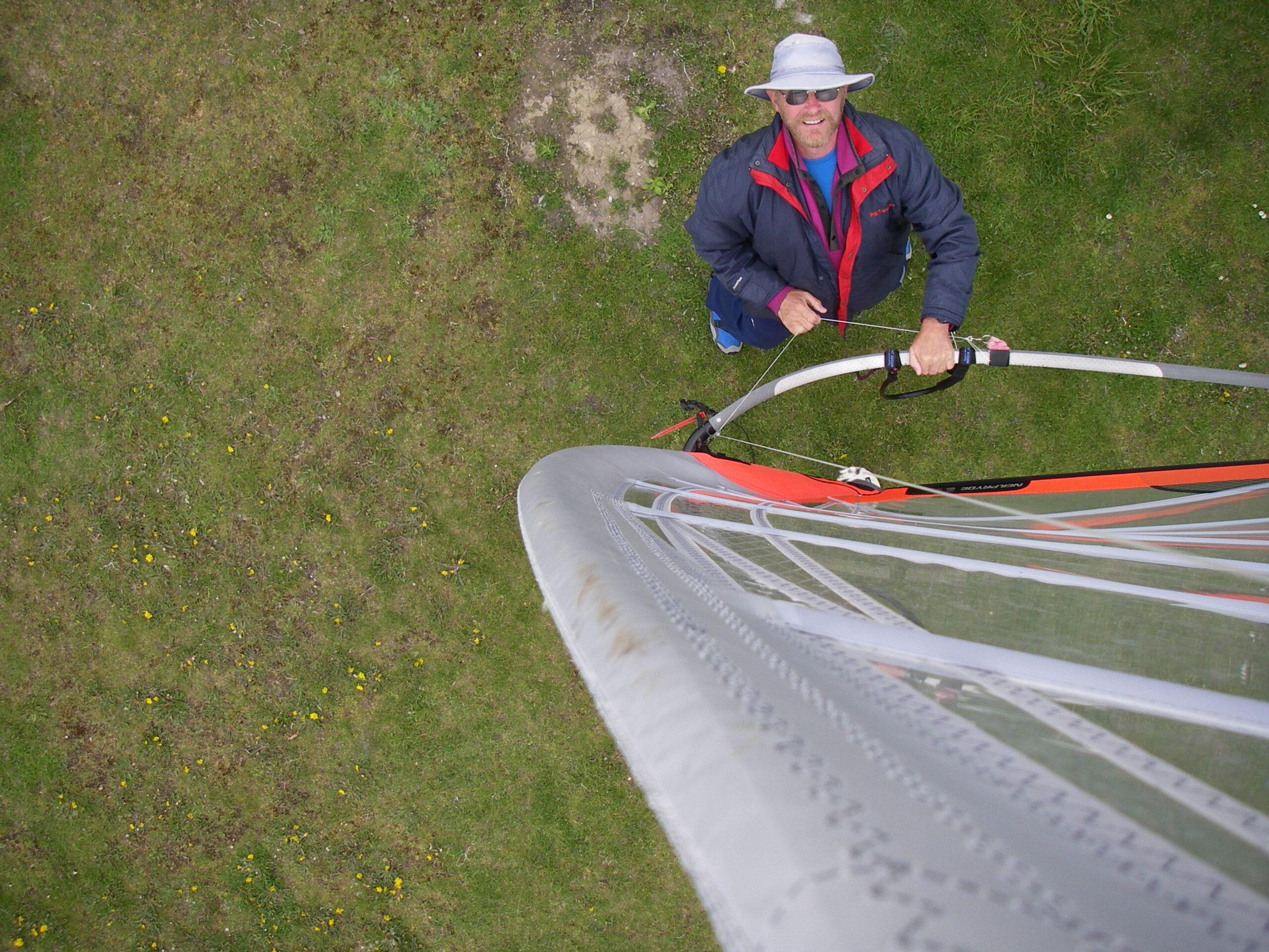 2007 Janne testar mastkamera - 1998 - 2007