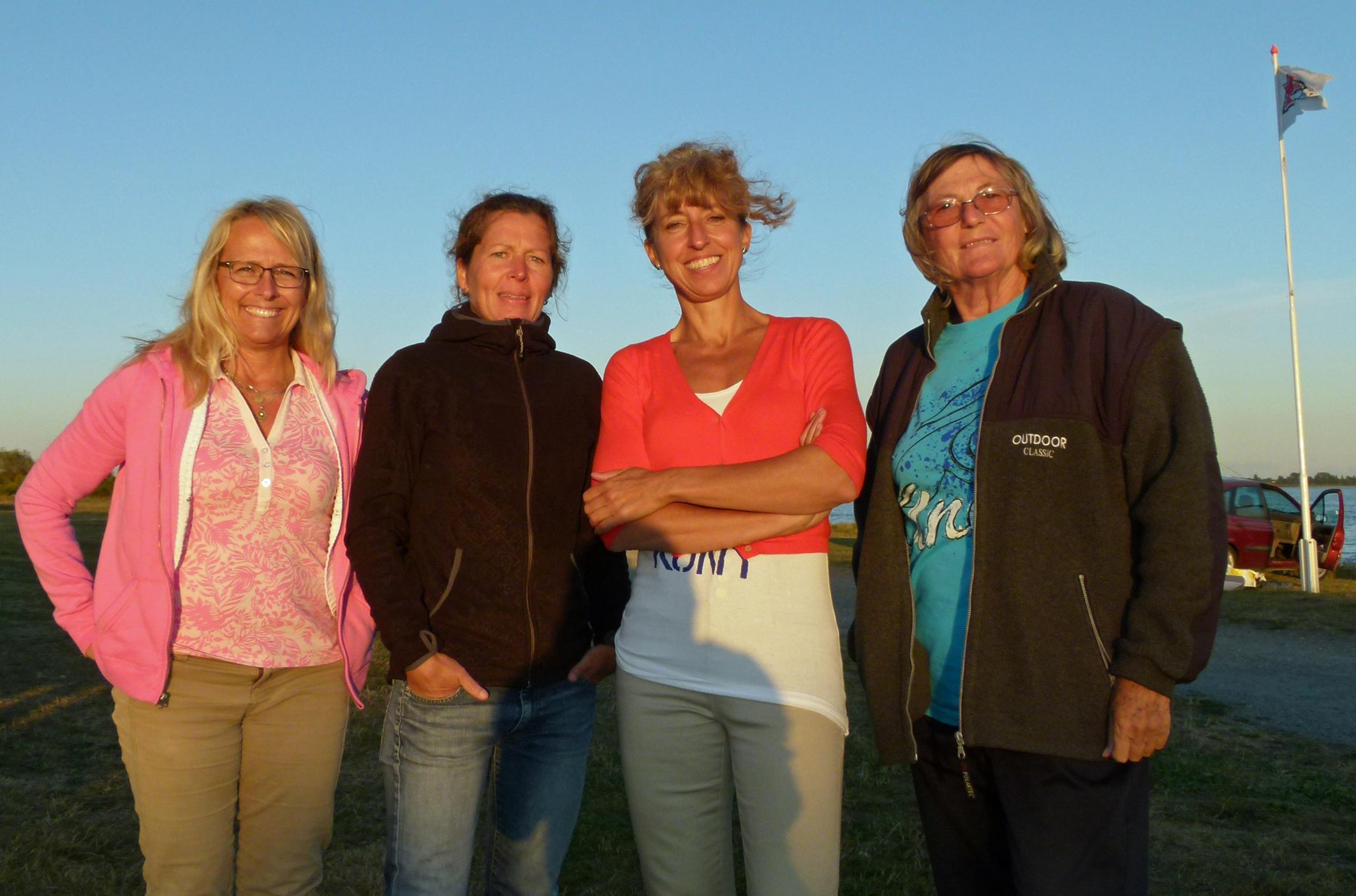 2008 Fyrklöver i damer Christina, Lisbeth, Paula och Brigitte - 2008
