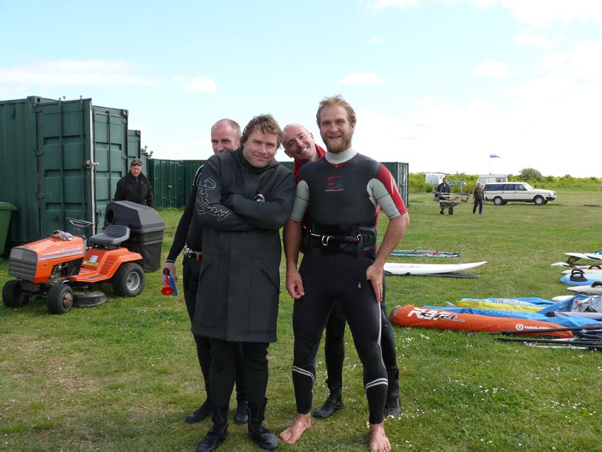 2008 Tobias, BQ, Klang och Paddy - 2008 PA Race