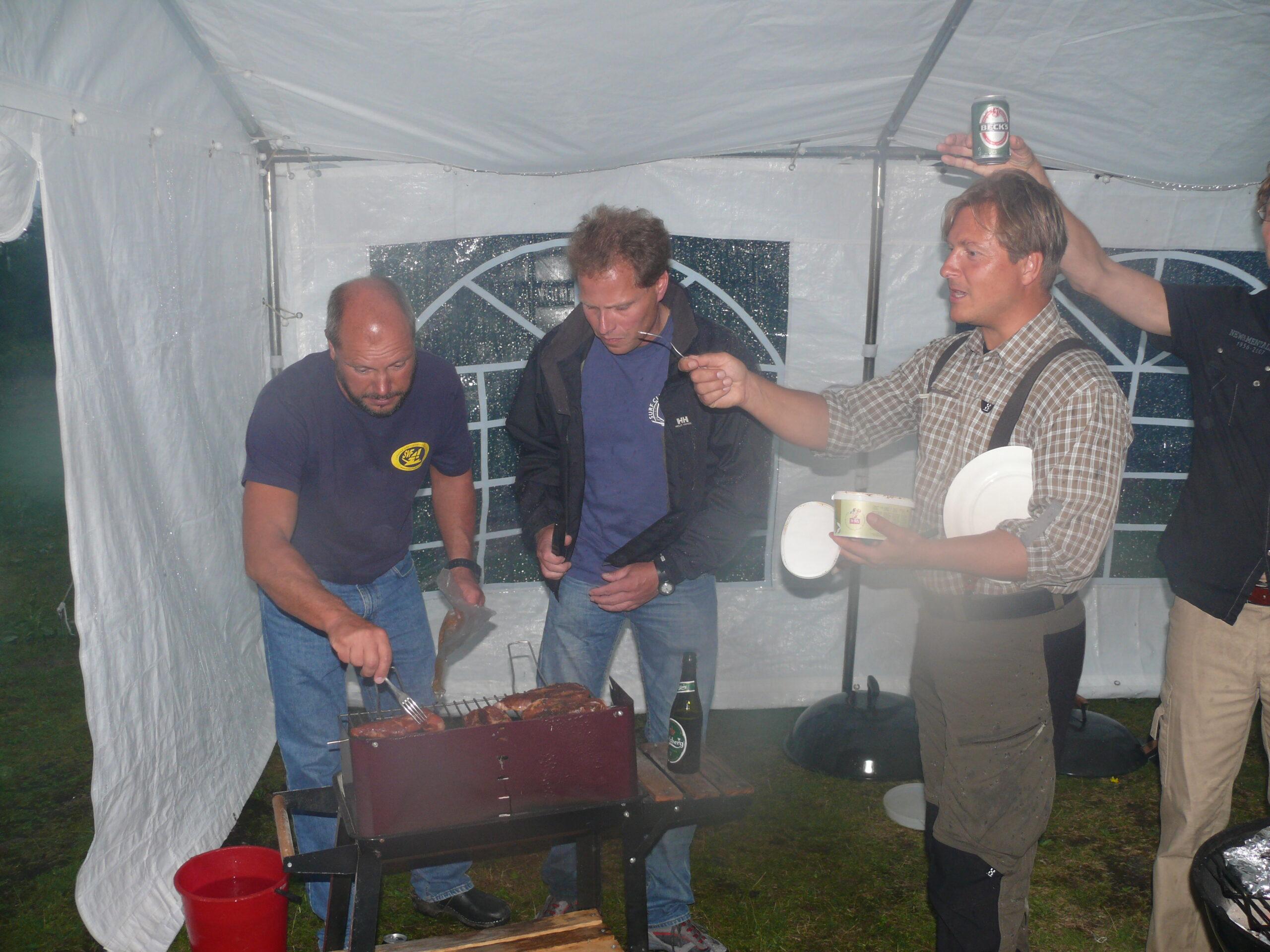 2010 PA Uffe, Rickard och Patrik i grilltagen - 2010 - 2014