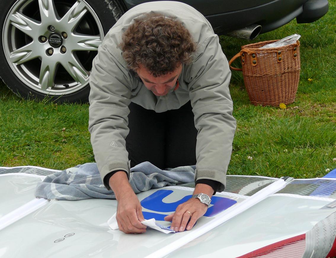 Klistrar segelnummer - SM 2007